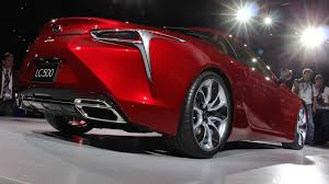 lexus canada lc 500 lexus enters the large luxury coupe market with lc 500 news