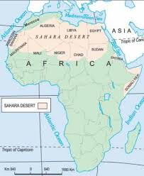 africa map deserts ncert solutions for class 7th ch 10 in the deserts geography