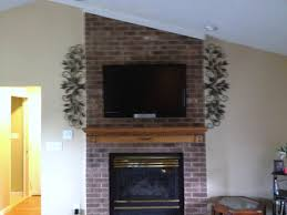 tv installation over a brick fireplace by jason in washington dc