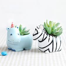 animal planter cute animal planters series 2 apollobox