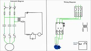 wiring diagram wiring diagram for motor starter 3 phase full