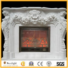 Travertine Fireplace Hearth - china white marble stone limestone travertine fireplace mantel