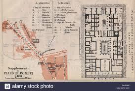 Casa Bella Floor Plan Pompeii Strada Dei Sepolcri Pompeian House Casa Di Pansa Floor