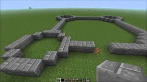 minecraft how to build a castle easy part 1 step by step youtube