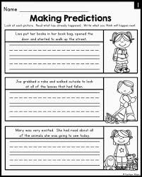 printables making predictions worksheets 3rd grade ronleyba