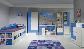 chambre fille ado pas cher lit bleu avec rangements chambre enfant et adolescent pas cher