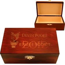 personalized boxes personalized eagle scout keepsake box the catholic company