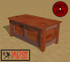 Free Woodworking Plans Outdoor Storage Bench by Storage Bench Chief U0027s Shop