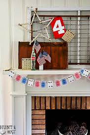 Dollar Store Home Decor Ideas 4th Of July Decorating Ideas From The Dollar Store Hunt And Host