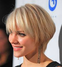 short layered bob hairstyles for stylish women funky women