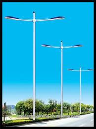 utility pole light fixtures high quality led new octagonal street light poles traffic signal
