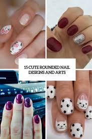 15 cute rounded nail designs and arts styleoholic