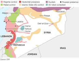 Syria On World Map by Syria The Story Of The Conflict Bbc News