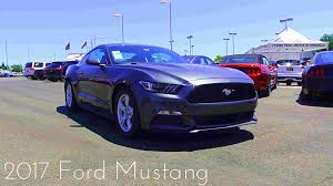 2017 ford mustang 3 7 l v6 review youtube