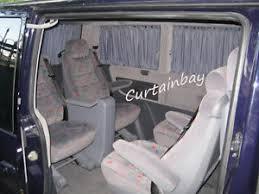 Camper Van Blinds Mercedes Vito 638 V Class Rear Curtains Complete Set Blinds