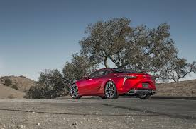 lexus lc coupe 2018 price 2018 lexus lc 500 first look review motor trend