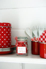 Red Canisters For Kitchen 254 Best Shabby Chic Red Images On Pinterest Red Red Kitchen
