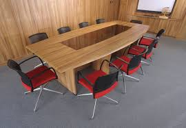 appealing office conference table rectangle shaped laminate wood