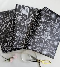 chalkboard wrapping paper chalkboard wrapping paper crafts diy gifts decoration so