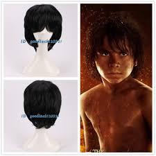 free shipping 2016 new movie the jungle book mowgli cosplay wig