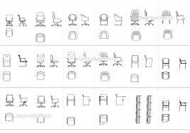 furniture dwg models free download