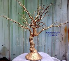 Tree Centerpieces 50cm Gold Crystal Wedding Table Tree Centerpiece Tbt042 2