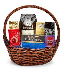 coffee and tea gift baskets coffee gift basket at from you flowers