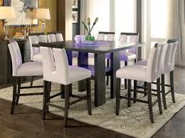 9 piece dining table set latitude run travis counter height 9 piece dining set reviews