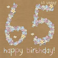 template 65th birthday cards female also clinton cards 65th