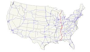 Map Of Tenn U S Route 31 Wikipedia