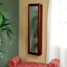 jewelry armoire wall mirror u2013 blackcrow us