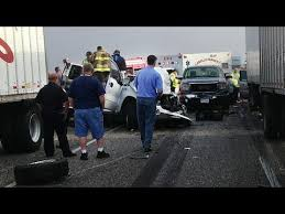 texas car crash accident pileup graphic 2 dead in massive texas