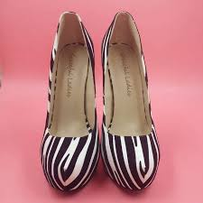 comfortable women pumps with zebra stripes online beautiful cheap
