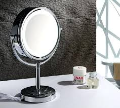 bathroom shaving mirrors wall mounted staggering magnifying mirrors for bathroom compact chrome lighted