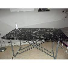 plaque de bureau en verre bureau plateau verre bureau plateau bureau plateau verre noir