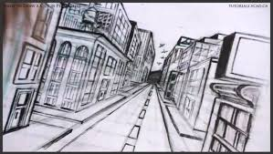 drawing buildings in perspective linear perspective drawing