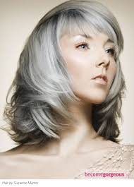 how to blend in grey hair gray hair no more