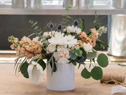 3 step flower arrangement southern living