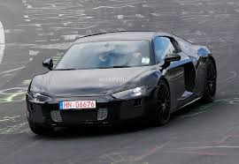 Audi R8 All Black - all new audi r8 loses its camo during latest nurburgring tests