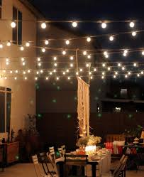 Lighting Ideas For Backyard Outdoor Magic U2013 How To Decorate With Fairy Lights