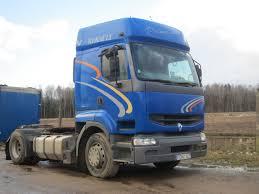 renault truck premium nuomojami vilkikai puspriekabės u2013 mator