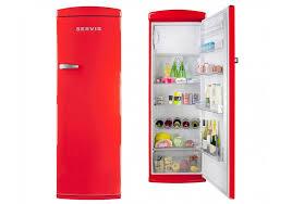 fridge red light new red refrigerator for servis r60170r chilli retro fridge crton