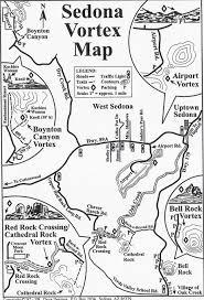 Map Of Sedona Arizona by Mystical Sedona Awriterrambles