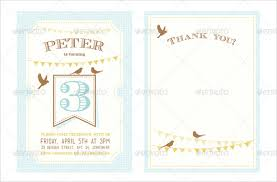 baby shower notes 13 baby shower thank you notes psd eps pdf