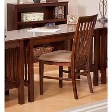 mission style ash oak desk free shipping today overstock com