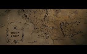 Lord Of The Rings Map Fun With Franchises Favorite Images From The Lord Of The Rings