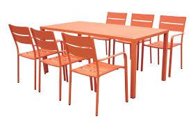 Orange Dining Room Sets Brayden Studio Molnar 7 Piece Dining Set U0026 Reviews Wayfair