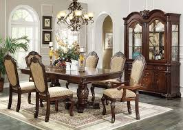 Espresso Dining Room Furniture Chateau De Ville 7pc Espresso Dining Set 64075