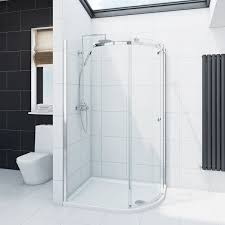 shower door spacer infiniti 8mm sliding door rh offset quadrant shower enclosure