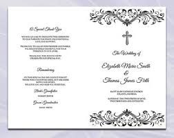 wedding mass program template catholic funeral mass program template zoro blaszczak co